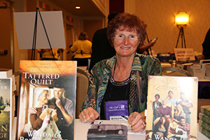 Signing books at the RT Convention in New Orleans, Louisiana