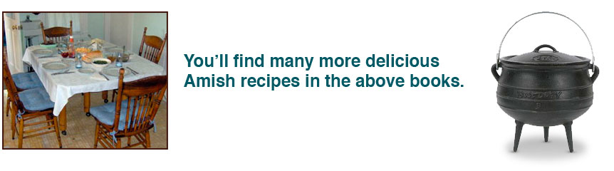 Find more delicious recipes in the above books