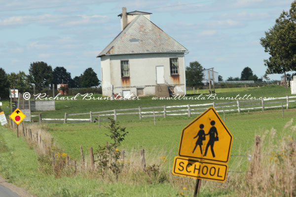 Old Ohio Amish Schoolhouse