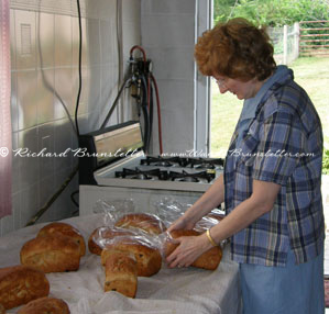 Wanda bagging bread Amish Recipes