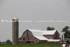 Indiana Barn with Silo