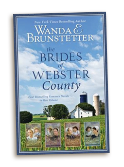 Brides of Webster County Wanda E. Brunstetter Lot 4 Complete Set Amish Romance
