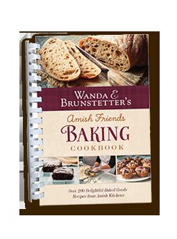 Amish Friends Baking Cookbook